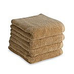Tranquility Hand Towels in Mushroom (Set of 4)