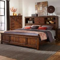 Intercon Wolf Creek Queen Bookcase Bed