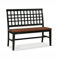 Intercon Furniture Arlington Lattice Back Bench
