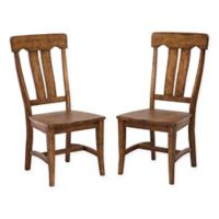 Intercon Furniture The District Collection Side Chairs in Copper (Set of 2)