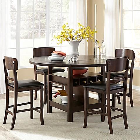 Intercon Furniture Hampton Dining Collection In Dark Oak