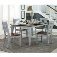 Intercon Furniture Small Spaces 5-Piece Dining Set With Side Chairs in Cherry
