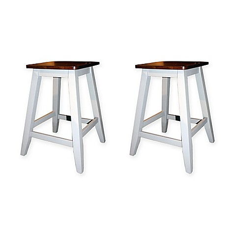 Intercon Furniture Small Space 24 Inch Backless Bar Stools