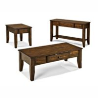 Intercon Furniture Kona Occasionals 3-Piece Table Set in Raisin
