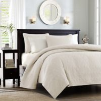 Madison Park Quebec Twin/Twin XL Coverlet Set in Ivory