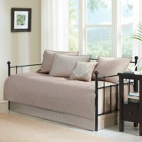 Madison Park Quebec 6-Piece Daybed Set in Khaki