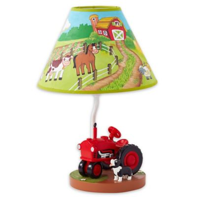 Kids table lamps from buy buy baby lighting fantasy fields happy farm kids table lamp aloadofball Images
