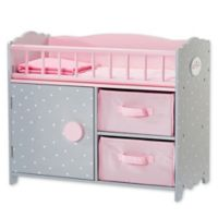Olivia's Little World Polka Dots Princess Crib in Pink