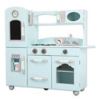Teamson Kids My Little Chef Retro Play Kitchen in Mint