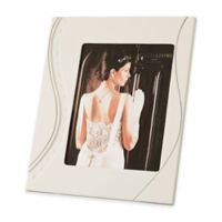 Belleek Living Ripple Platinum 8-Inch x 10-Inch Picture Frame