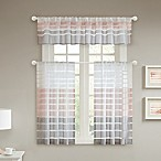 Demi Window Panel and Valance in Blush