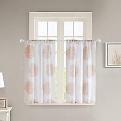 Lisbon Window Curtain Panel In Blush by Bed Bath & Beyond