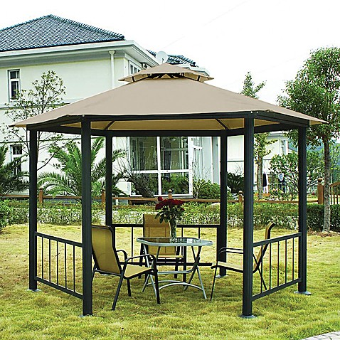 CoolarooR Victoria 10 Foot Hexagonal Gazebo