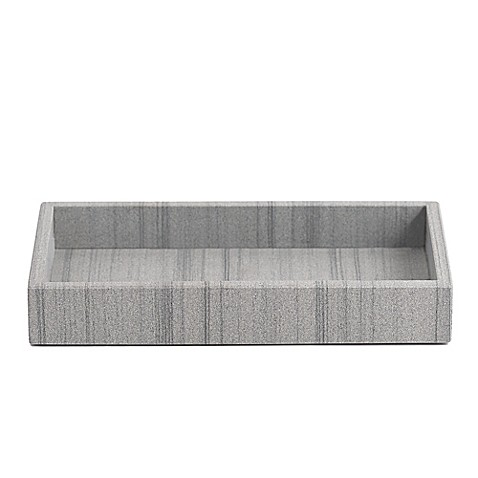 Capistrano marble vanity tray in graphite grey bed bath - Bed bath and beyond bathroom vanity ...