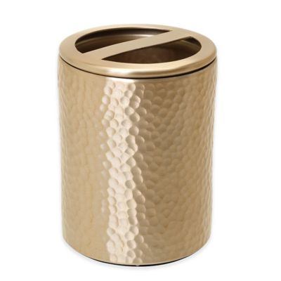 Gold Toothbrush Holder