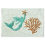 Bacova Sea Splash 20-Inch x 30-Inch Bath Rug