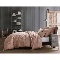 Kenneth Cole Reaction Home Mineral Full/Queen Duvet Cover in Blush