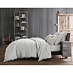 Kenneth Cole Reaction Home Mineral Full/Queen Duvet Cover in Cement