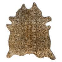 Natural Rugs Togo Cowhide 6-Foot x 7-Foot Area Rug in Cheetah