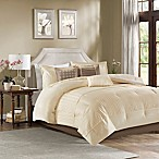 Madison Park Trinity King Comforter Set in Ivory