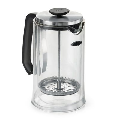 OXO Good Grips 8-Cup French Press Coffee Maker in Clear - Bed Bath & Beyond