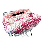 Itzy Ritzy® Ritzy Sitzy™ Shopping Cart and High Chair Cover in Pink Ombre Dot