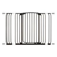 Dreambaby® Chelsea Tall Extra Wide Hallway Gate in Black