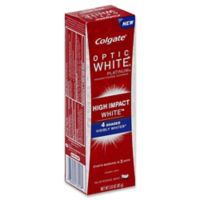 Colgate® Optic White® High Impact White™ 3 oz. Anticavity Fluoride Toothpaste