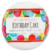 Fizz and Bubble 6.5 oz. Artisan Bath Fizzy in Birthday Cake