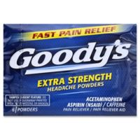 Goody's® 6-Count Extra Strength Headache Powders
