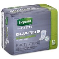 Depend® 52-Count Maximum Absorbency Guards for Men