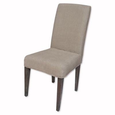 Sterling Industries Couture Covers Slipcover For Parsons Chair In Light  Brown