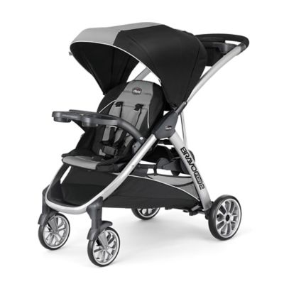 strollers chicco bravofor2 double stroller in zinc - Double Stroller Frame