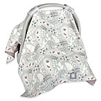 Balboa Baby® Car Seat Canopy in Grey Paisley