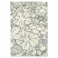 Kaleen Melange Garden Sketch 9-Foot x 12-Foot Area Rug in Ivory