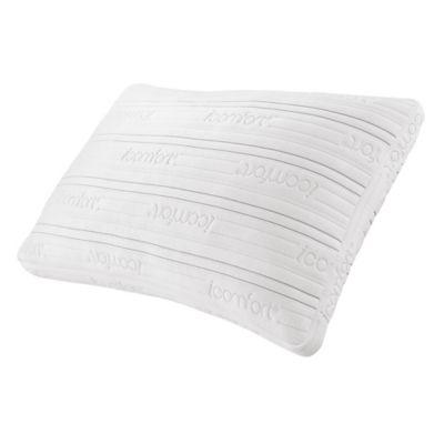 serta icomfort scrunch 30 queen bed pillow in white
