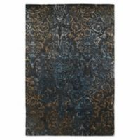 Kaleen Mercery Lithograph 9-Foot 6-Inch x 13-Foot Area Rug in Charcoal