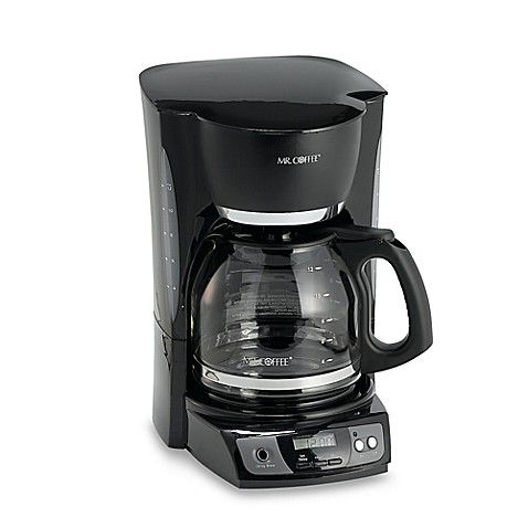 image of Mr. Coffee® 12-Cup Programmable Coffee Maker in Black