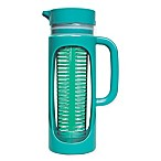 Primula 50 oz. Infusion Pitcher with Protective Holder in Teal