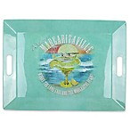 Margaritaville® Vintage Tray in Blue