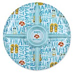 Margaritaville® Icon Round Chip and Dip in Blue