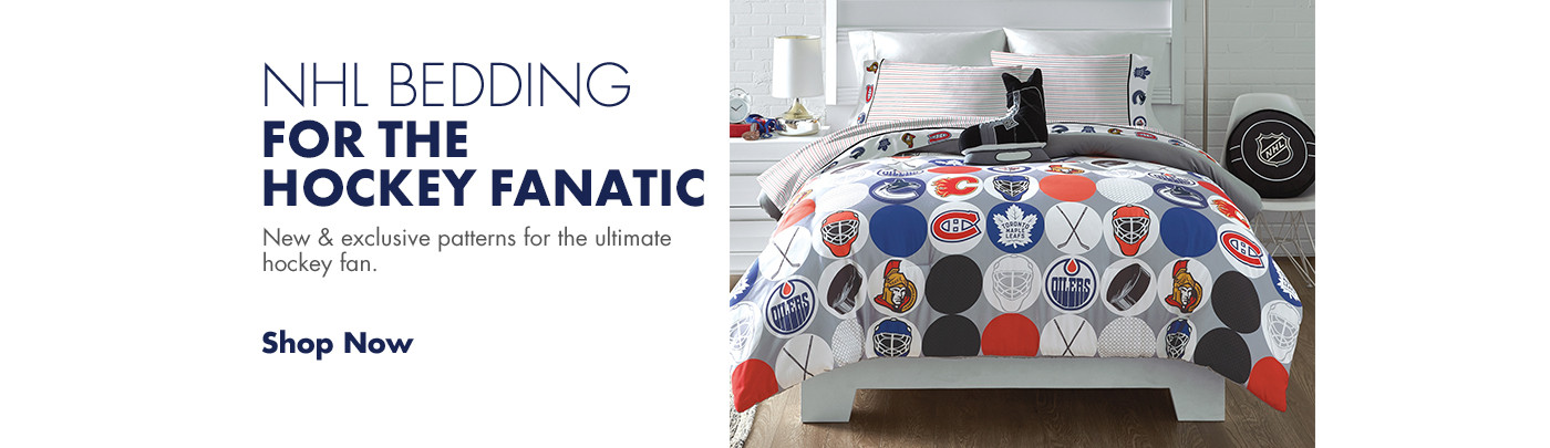 NHL Bedding for the hockey fanatic!