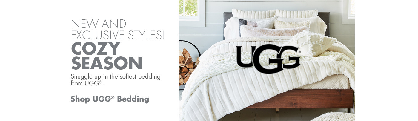 New and Exclusize Styles - Shop Ugg Bedding