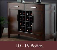 Wine Racks for 10 - 19 Bottles