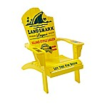 Margaritaville® Landshark Outdoor Adirondack Chair in Yellow