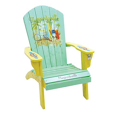Margaritaville 174 Outdoor Classic Wood Adirondack Chair