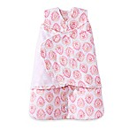 HALO® SleepSack® Multi-Way Small Pink Medallion Adjustable Fleece Swaddle in Ivory