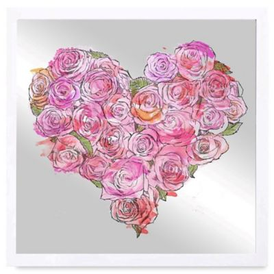 Rose Wall Decor buy roses wall decor from bed bath & beyond