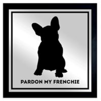 Oliver Gal Frenchie Framed Printed Mirror Wall Art