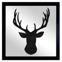 Oliver Gal Deer Me Framed Printed Mirror Wall Art